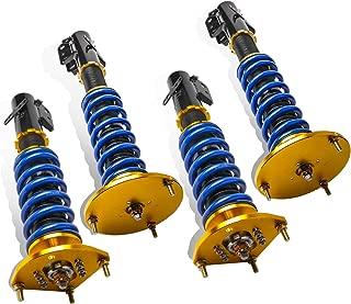 MOSTPLUS Coilovers Struts for 2003-2005 Dodge Neon SRT-4 2.4L/Chrysler Neon 2000-2002/Dodge SX 2.0 2003-2005 Struts Shocks Suspension Kit Assembly (Set of 4)