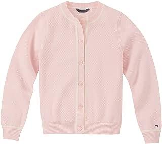 Girls' New Core Lightweight Popcorn Stitch Cardigan Sweater
