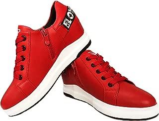 Hotroad Women's Wedge Shoes Sneakers Low-Top