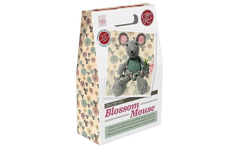 Crafty Kit Company CKC-CK-010 Crochet Kit Blossom Mouse