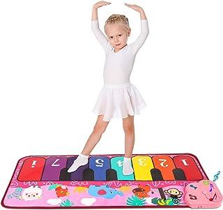 M SANMERSEN Piano Mat, Kids Piano Keyboard Mat Musical PlayM