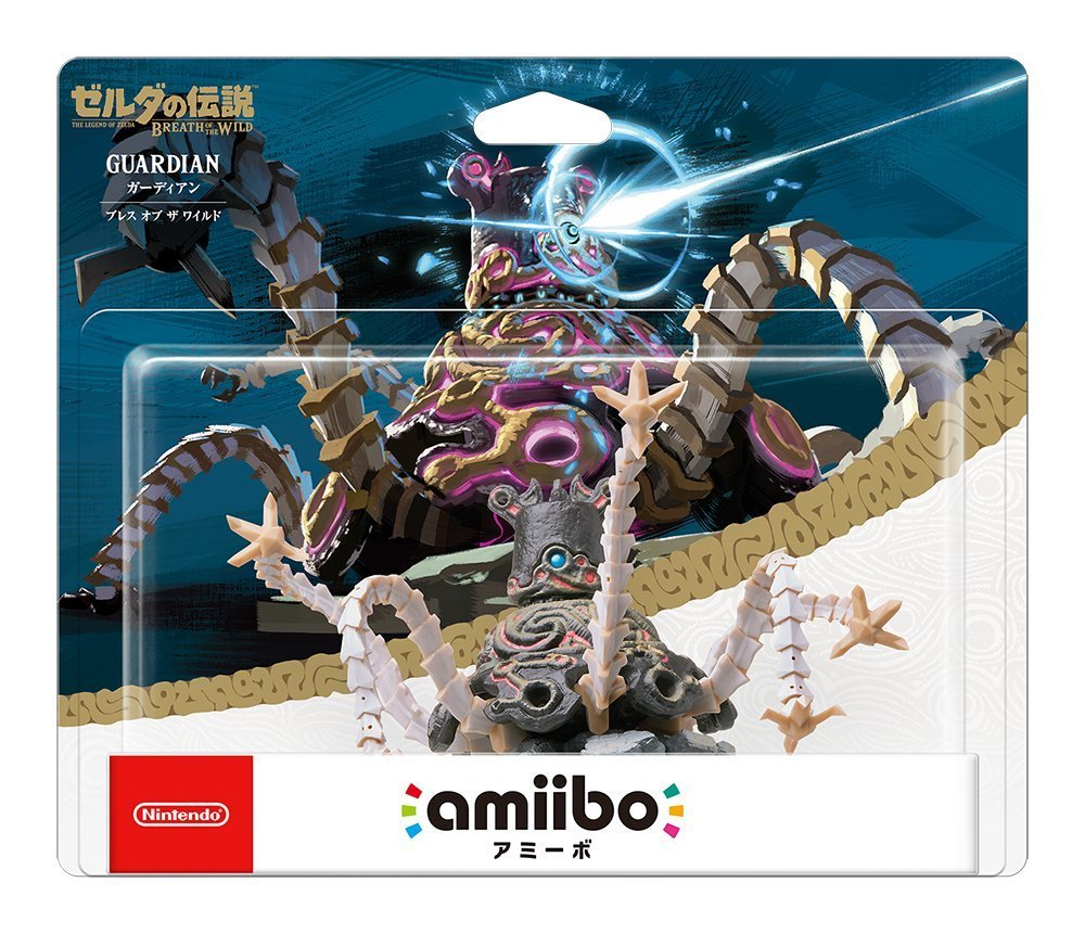Amiibo: Guardian (La leyenda de Zelda: Breath of The Wild) importado de Japón: Amazon.es: Juguetes y juegos
