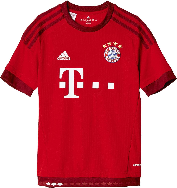 adidas FC Bayern Munich Home Youth Jersey-FCBTRU