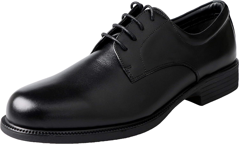 Men's Dress Shoes Lace Up Classic Oxford Waterproof Shoes