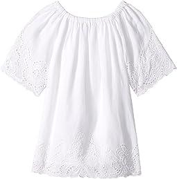 Cotton Lace Hem Dress (Toddler)