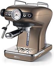 Ariete 1389/16 espressomachine, poeder en pad, 850 W, 1 cups, kunststof, brons