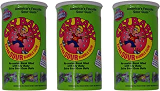 Cry Baby Extra Sour Bubble Gum Banks - 3 Pack