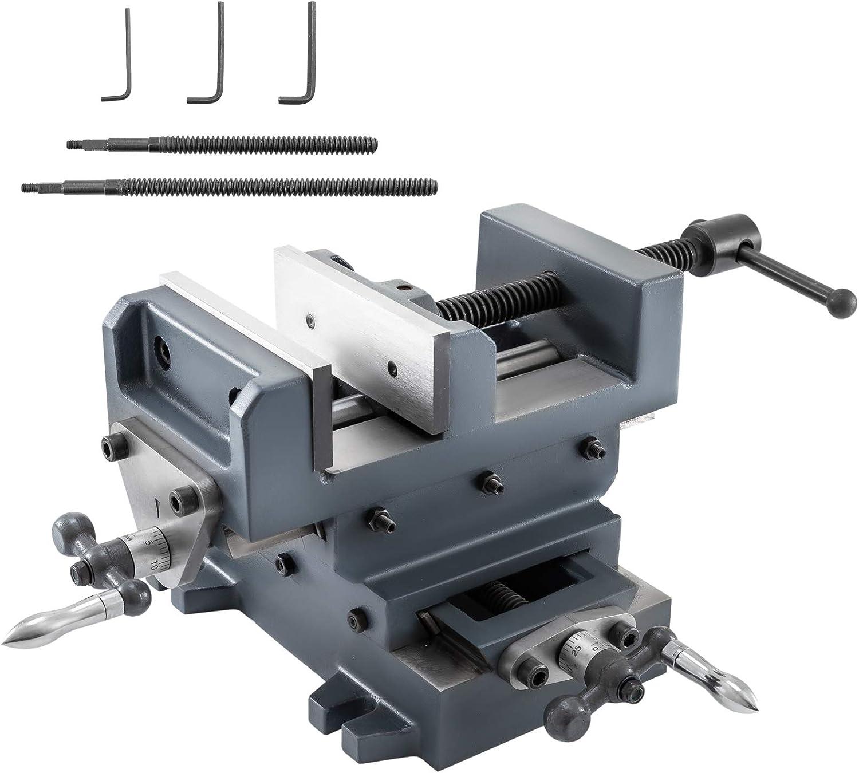 Mophorn Drill Press Vise latest Slide Max 78% OFF Hea Cross 6inch