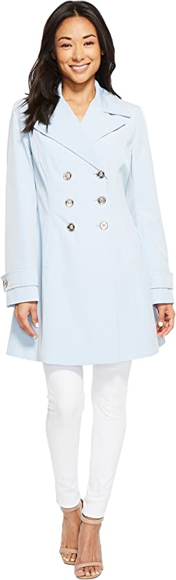 Ivanka Trump Double Breasted Raincoat