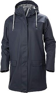 Helly Hansen Women's Dunloe Hooded Waterproof Windprood Rain Coat Jacket