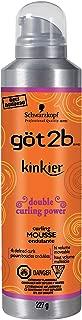 Got2b Kinkier Curling Mousse, 8-Ounce