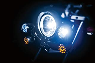Kuryakyn 5001 Motorcycle Lighting Accessory: Constellation Driving Light Bar with Turn Signal/Blinker Lights, Chrome