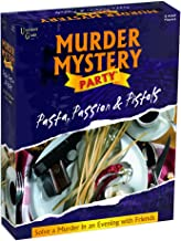 Murder Mystery Party Games - Pasta, Passion & Pistols, Host Your Own Italian Restaurant Murder Mystery Dinner for 8 Adult Players, Solve the Case with Crime Scene Clues, 18 Years and Up