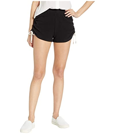 Volcom Lil Fleece Shorts (Black) Women