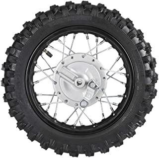 WPHMOTO 2.5-10 10Inch Front Wheel Tire and Rim 1.4 x 10 With 12mm Bearing for 50cc CRF50 XR50 Dirt Pit Bike