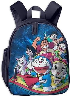Doraemon and Partner - Mochila escolar para niño y niña, universal, bolsa de viaje
