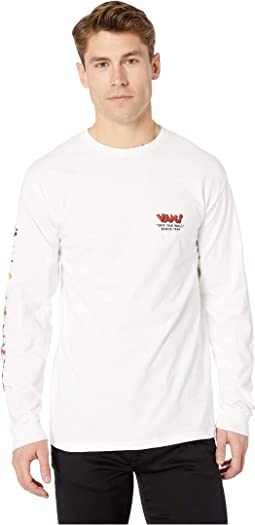 Vans Mickey's 90th Through the Ages Long Sleeve T-Shirt