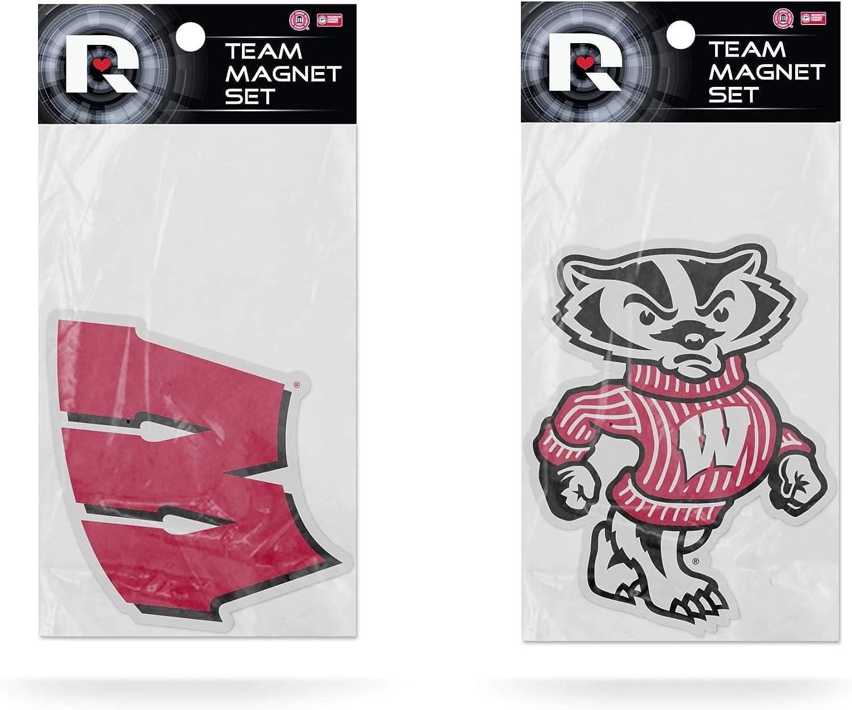 Rico Recommendation Industries NCAA Unisex 2-Pack Die Team Magnet Logo Elegant Cut Set