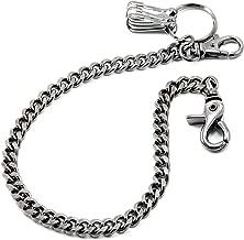 DoubleK Basic Strong Leash Biker Trucker Key Jean Wallet Chain (16