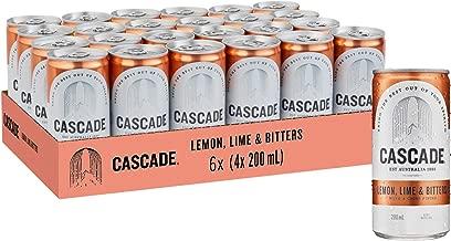 Cascade Lemon Lime & Bitters Multipack Mini Cans 24 x 200mL
