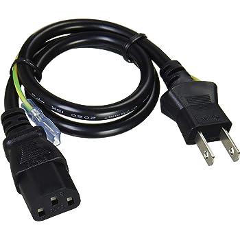 アイネックス AC電源ケーブル 0.5m ACP-05A