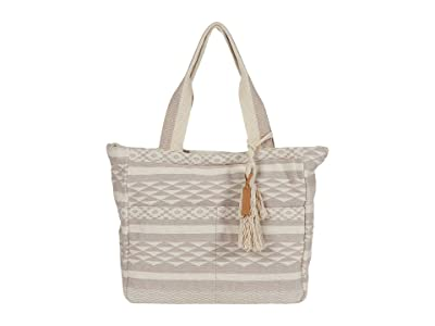 Lucky Brand Gena Tote (Natural) Handbags