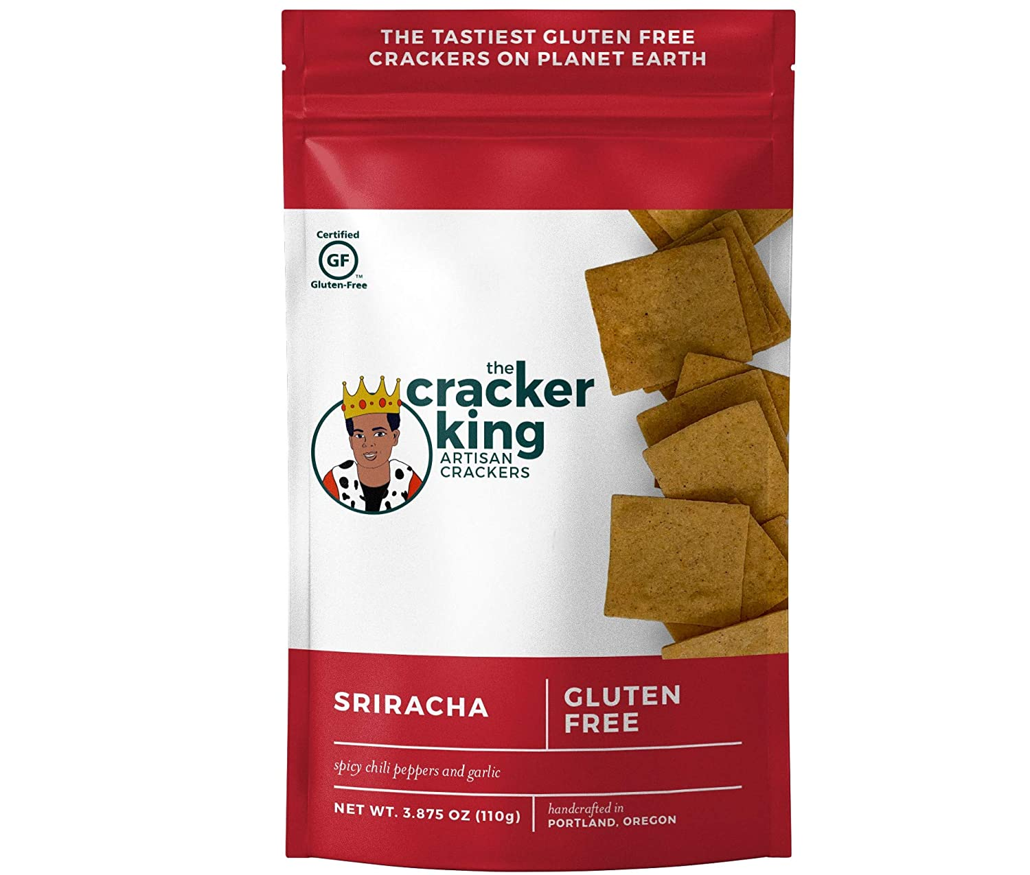 The Cracker King Sriracha Bag Sale Special Price Crackers Single sold out