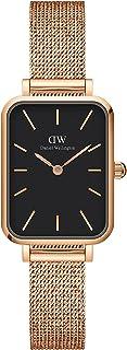 Daniel Wellington Quadro Melrose Watch, Rose Gold Mesh Bracelet, 20x26mm