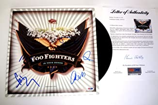 foo fighters signed vinyl