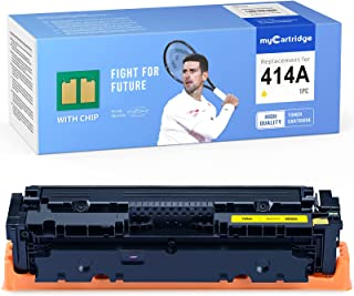 MYCARTRIDGE (with CHIP) Remanufactured Toner Cartridge Replacement for HP 414A 414X W2022A for Color Laserjet Pro M479fdw ...