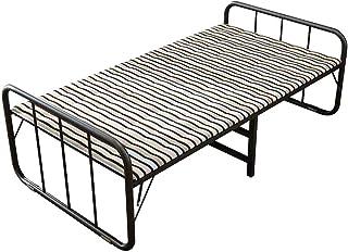 WXHHH Accueil Lit Pliant Bureau intérieur Durable Balcon Terrasse Terrasse Jardin Plage Lit Siesta extérieur Lit Pliant Ro...