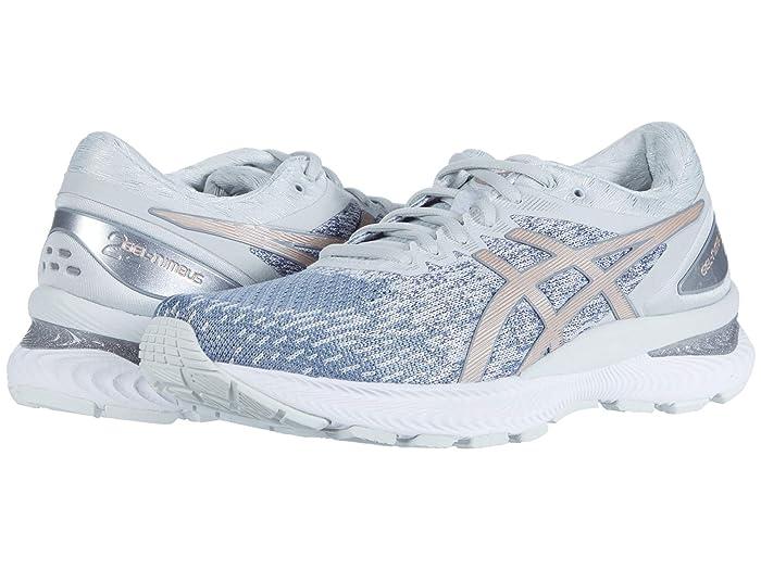 ASICS  GEL-Nimbus 22 (Sheet Rock/Rose Gold) Womens Running Shoes