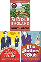 Jonathan Coe Collection 3 Books Set (Middle England, The Closed Circle, The Rotters' Club)