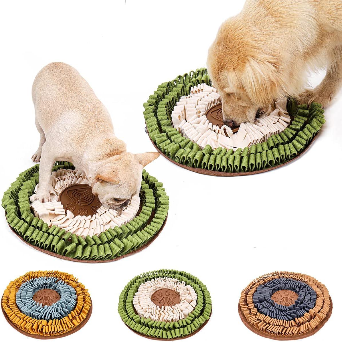 Yealay Dog Regular discount Snuffle Bowl Mat Max 56% OFF Interactive Slow Puzzle Toys Pet