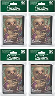 200 Two-Toed Spectacle - Star City Games Creature Collection Double Matte MTG Card Game Sleeves (4x 50 ct. Packs)