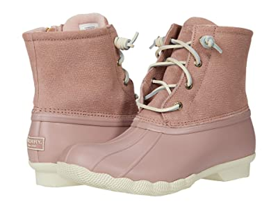 Sperry Saltwater Serpent Leather (Blush) Women