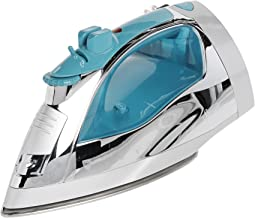 """""""Sunbeam Steammaster Steam Iron   1400 Watt Large Anti-Drip Nonstick Stainless Steel Iron with Steam Control and Retractable Cord"""