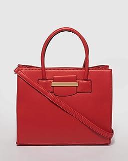 Red Mariana Tote Bag