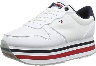 Amazon.it: Scarpe Sneakers Donna Bianche Rosso