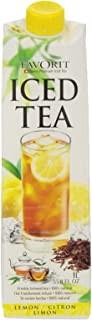 Favorit Iced Tea, Lemon, 33.8-Ounce (Pack of 6)