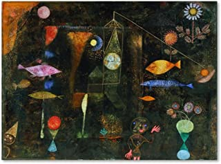 Paul KLEE-CLOWN stampa 1929 60x80cm