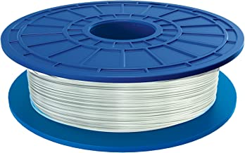 Dremel PLA 3D Printer Filament, 1.75 mm Diameter, 0.5 kg Spool Weight, White Translucent