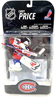 McFarlane Toys NHL Sports Picks Series 21 Action Figure: Carey Price (Montreal Canadiens) Red Jersey White Mask VARIANT