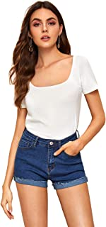 Best white ribbed t shirt Reviews