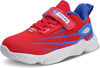 Kids Tennis Shoes Boys Sneakers Athletic Running Shoes for Girls(Toddler/Little Kid/Big Kid) …