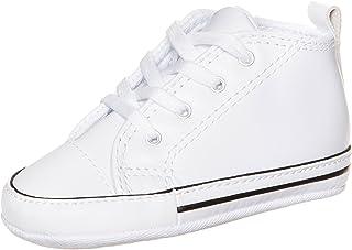 کفش چرمی نوزادی Converse First Star Chuck Taylor White 81229-3