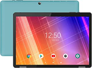 Tablet 10-Pulgadas Android 9.0 WiFi - HAOQIN H10 2GB RAM 32GB ROM Quad Core IPS HD Display Altavoces estéreo Bluetooth Certificado por Google (Azul)