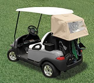 Golf Cart Club Cover – DryClub Canopy Available in Sunbrella or Vinyl – Golf Club Cover Canopy for Golf Carts, Golf Cart Accessory (Special Fit: EZGO, Club Cart, Yamaha, Star Car & More)