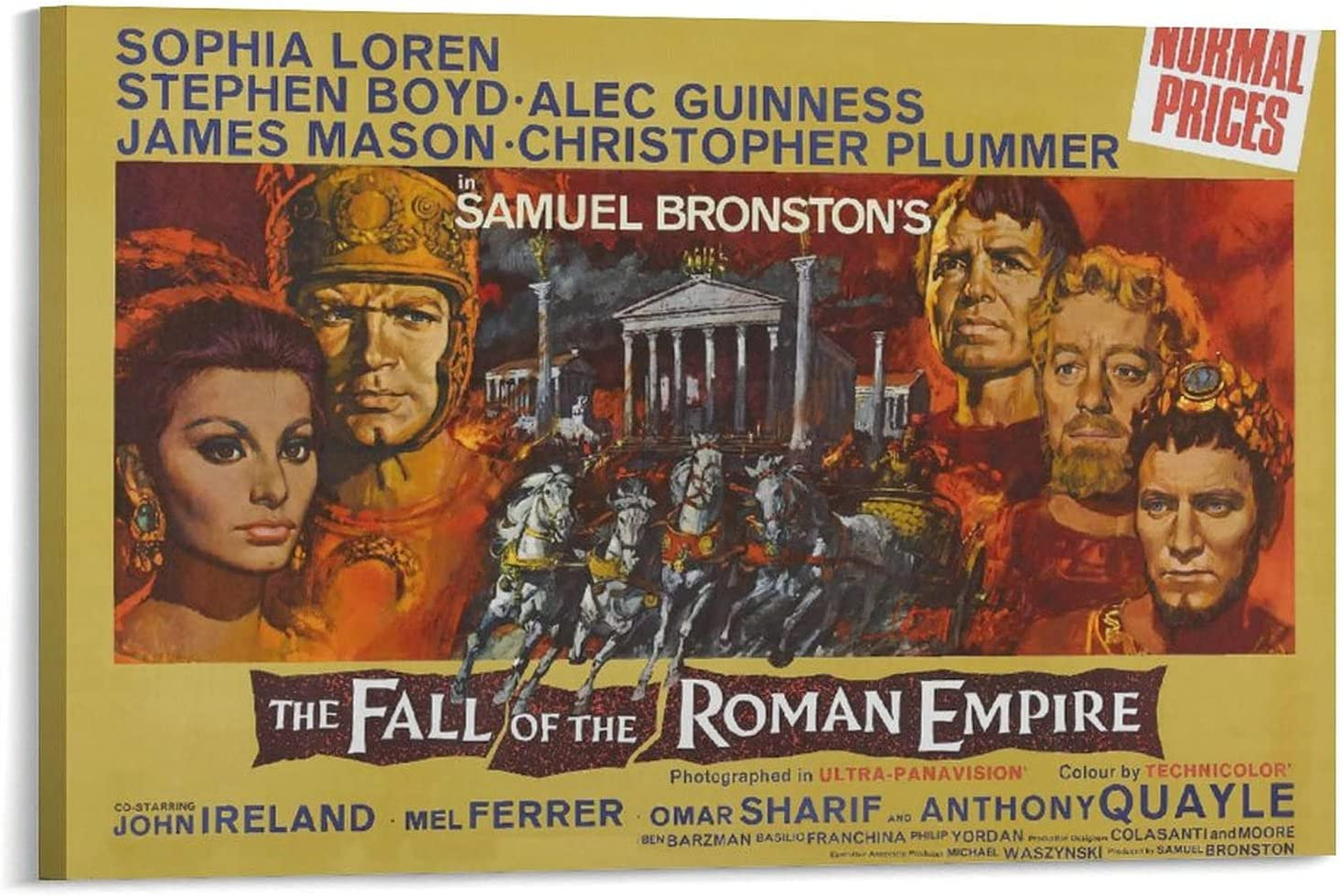 Movie The Fall San Jose Mall Raleigh Mall of Roman Empire H Sd4 1964 Posters Aesthetics