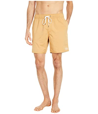 RVCA Opposites Elastic Shorts (Honey) Men